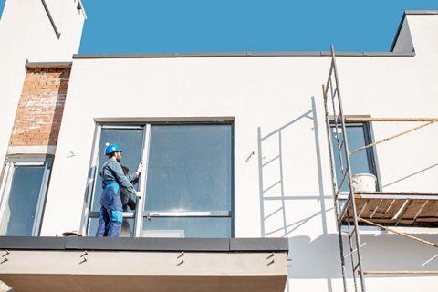 Construction d'un balcon